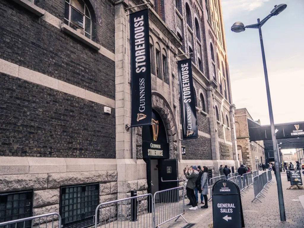 guiness storehouse museum dublin