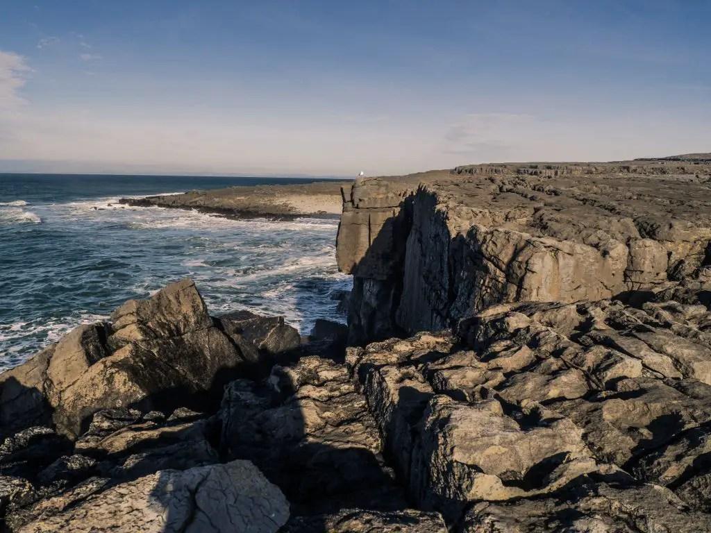 mini cliffs of the burren