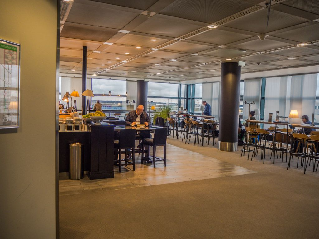 Frankfurt lufthansa panorama lounge