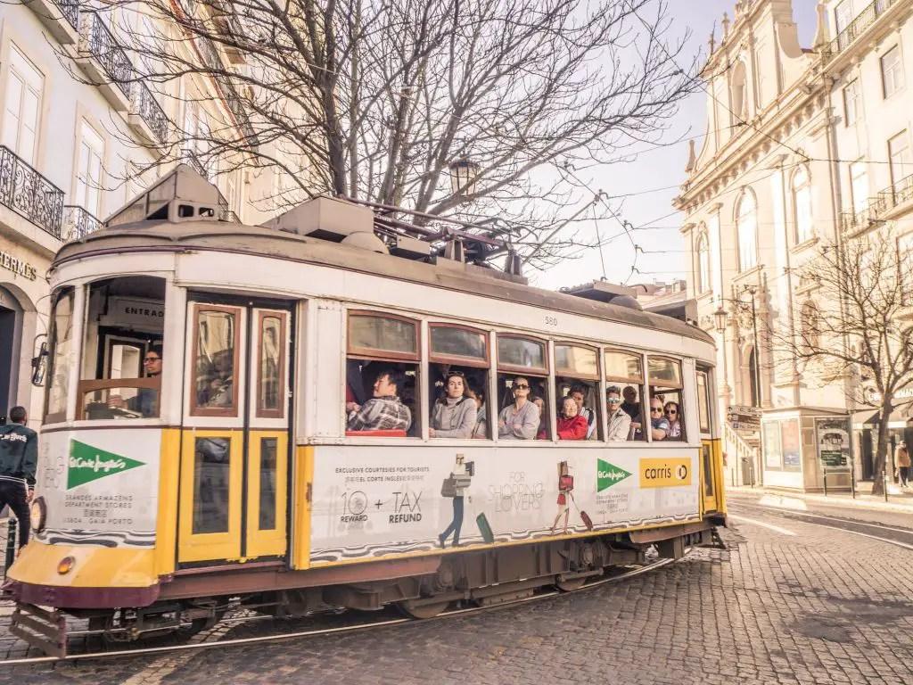 Lisbon cable cars portugal