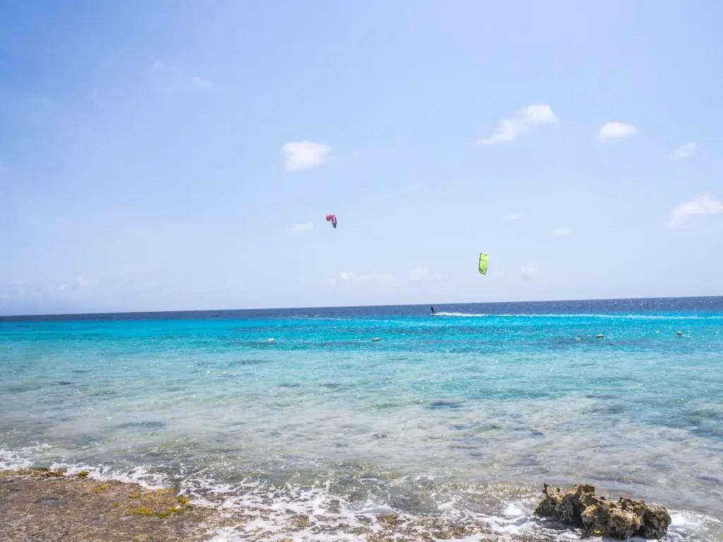 kitesurfing kiteboarding bonaire