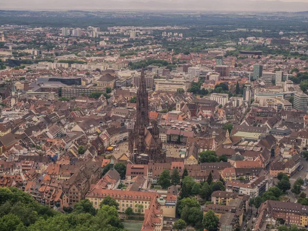 Schlossberg Freiburg views
