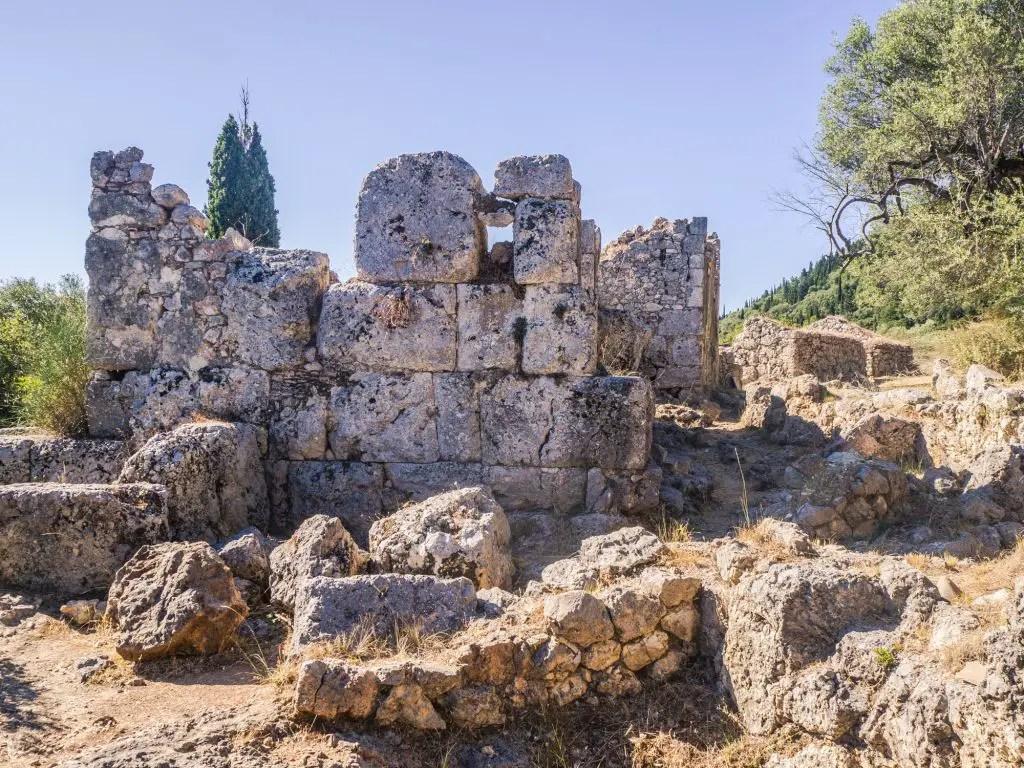 Ruins of Homer Ithaca