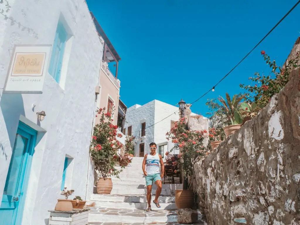 Plaka town Milos