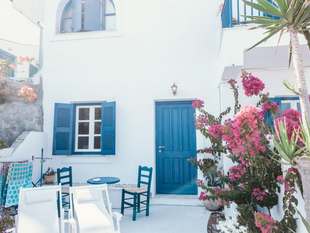 cycladic house paros greece