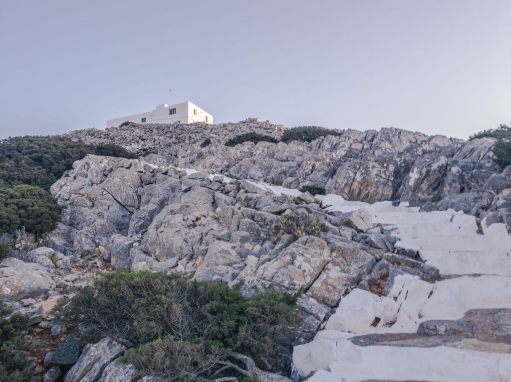 Prophet Elias Church Sifnos Greece