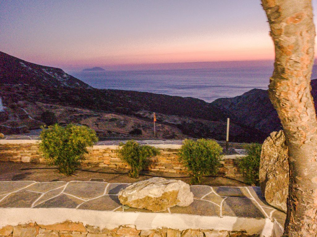 Sunset in troulaki sifnos