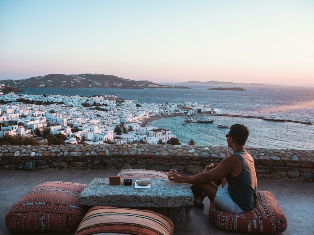 180 degree sunset bar mykonos