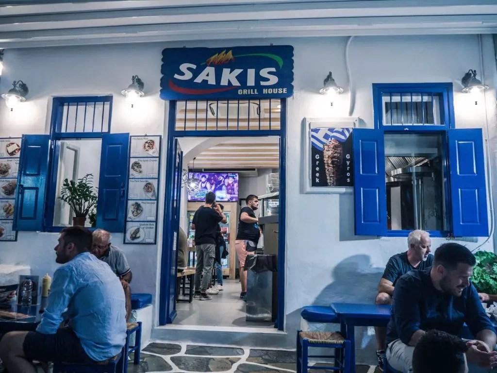 Saki's mykonos