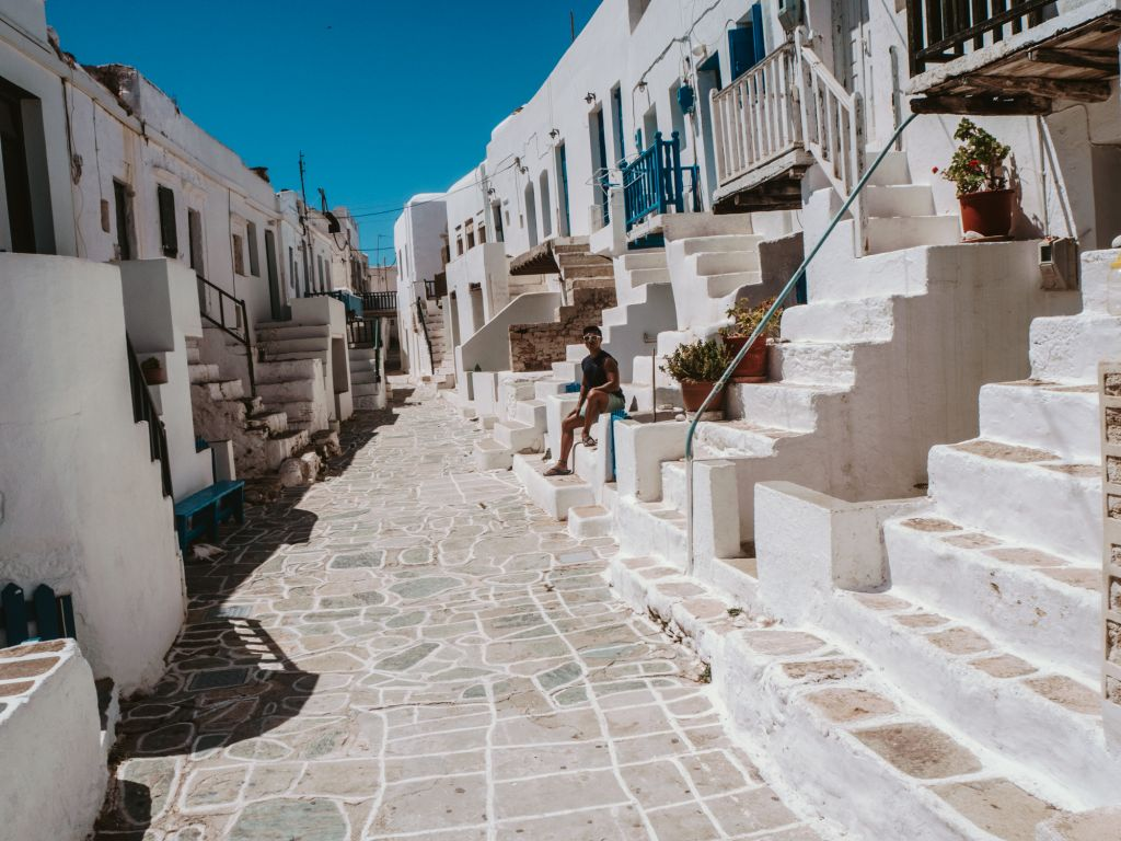 Kastro Neighborhood Folegandros Chora
