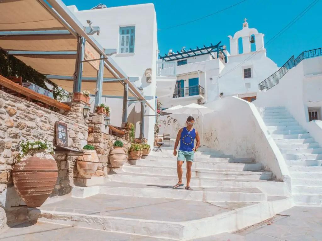 Naxos Chora streets