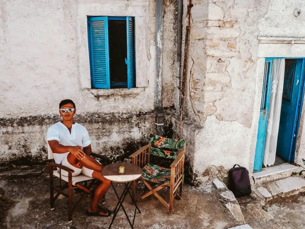 Apeiranthos Village Naxos