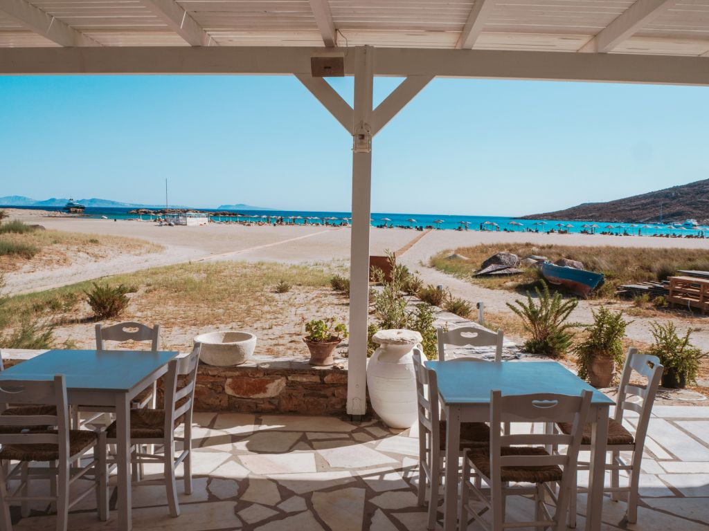 Antonis restaurant Maganari beach