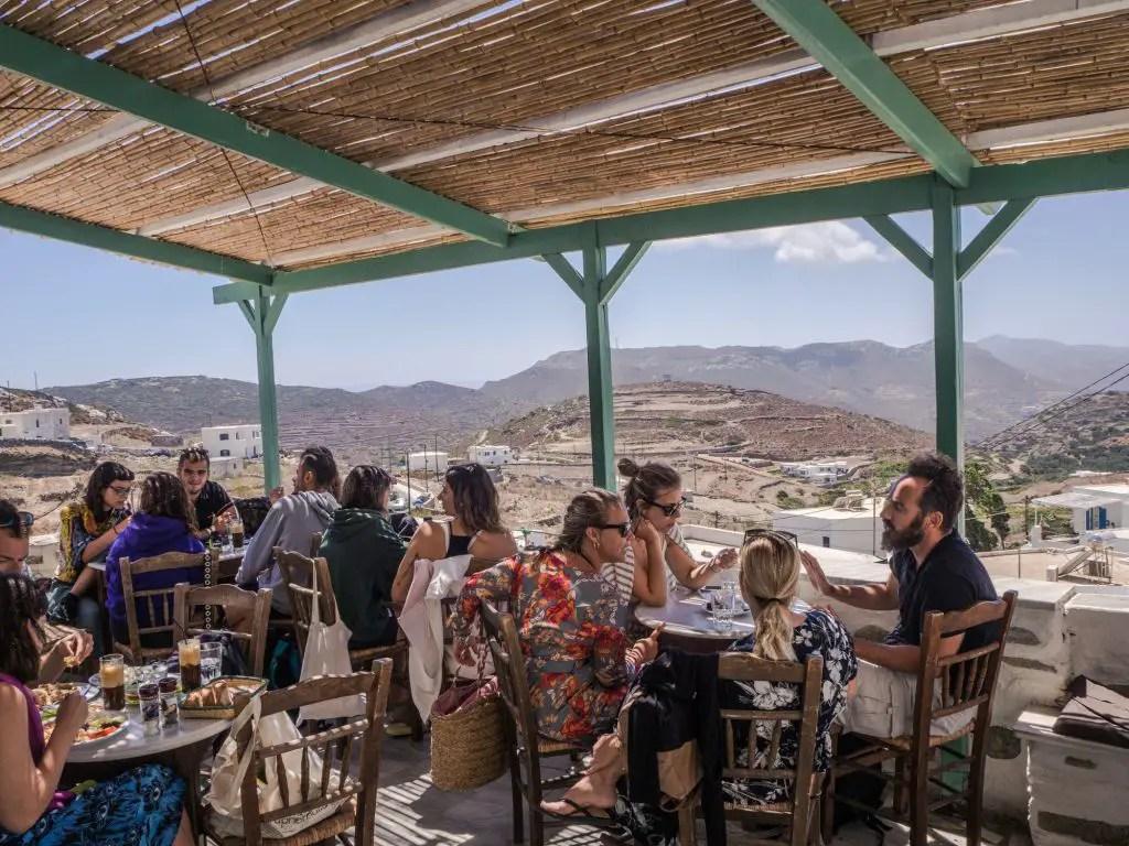 Jazzmin Cafe Amorgos Chora