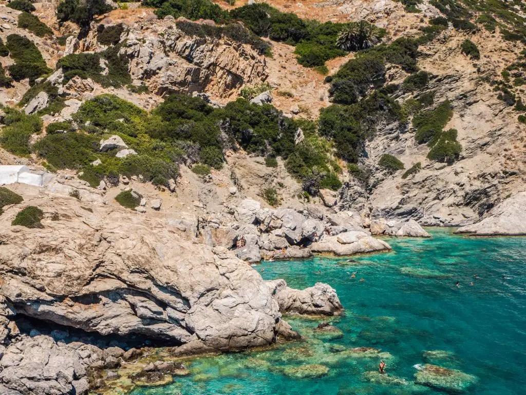 Agia Anna beach amorgos Greece