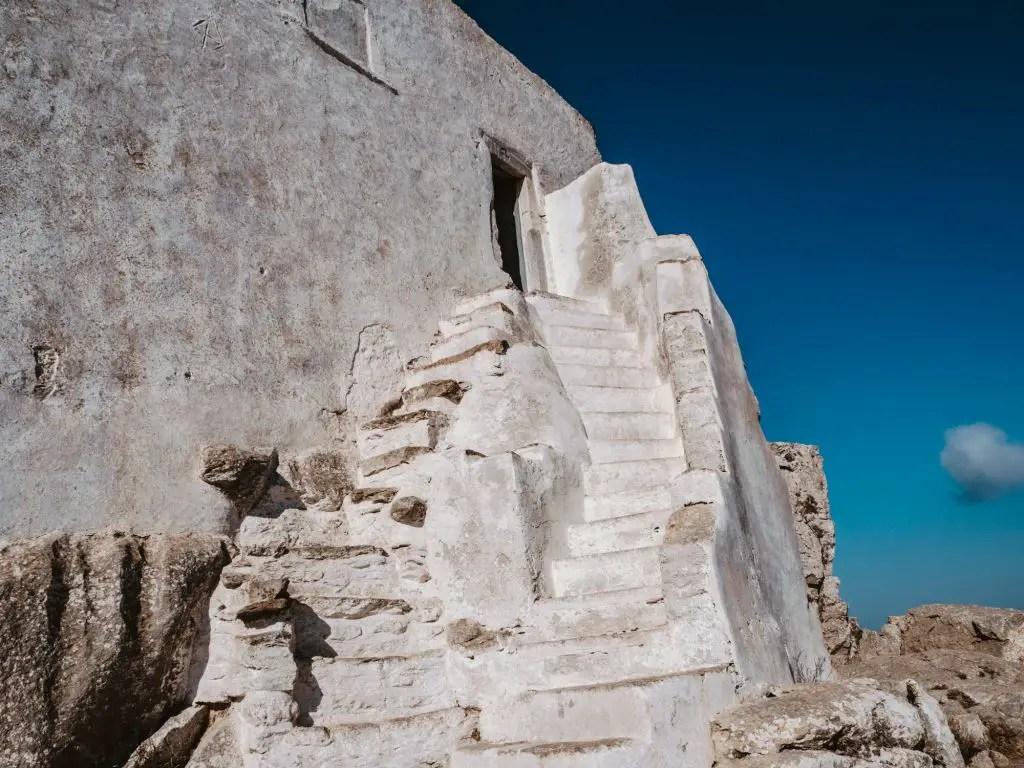 Amorgos chora cycladic architecture