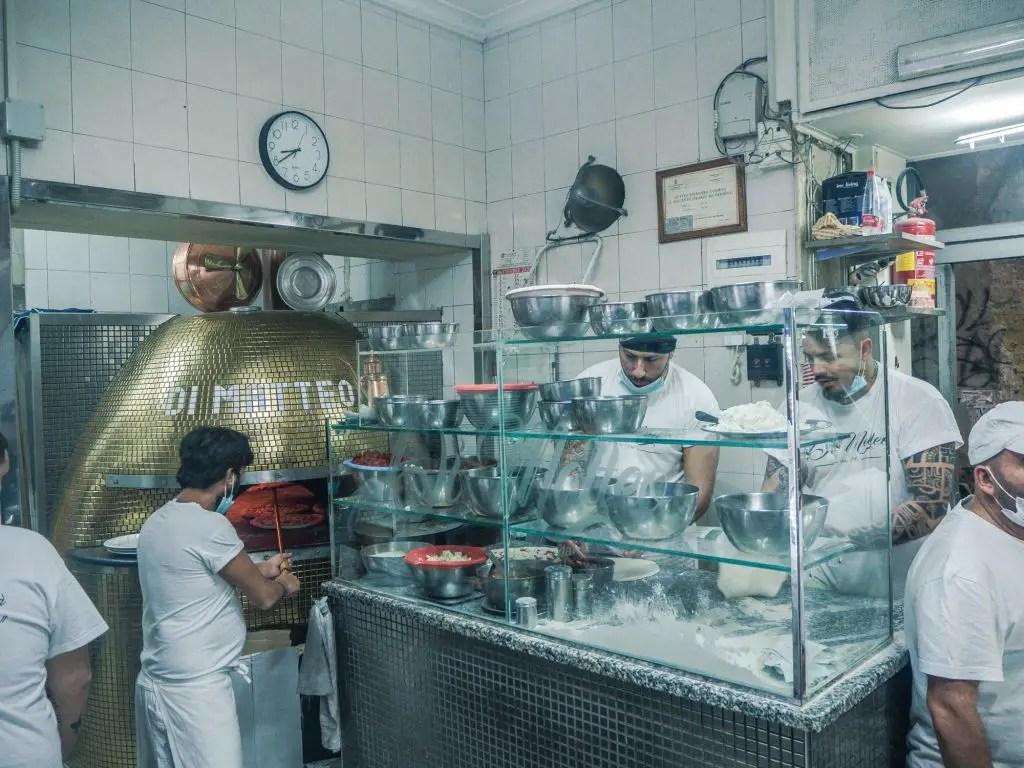 Pizzeria matteo naples