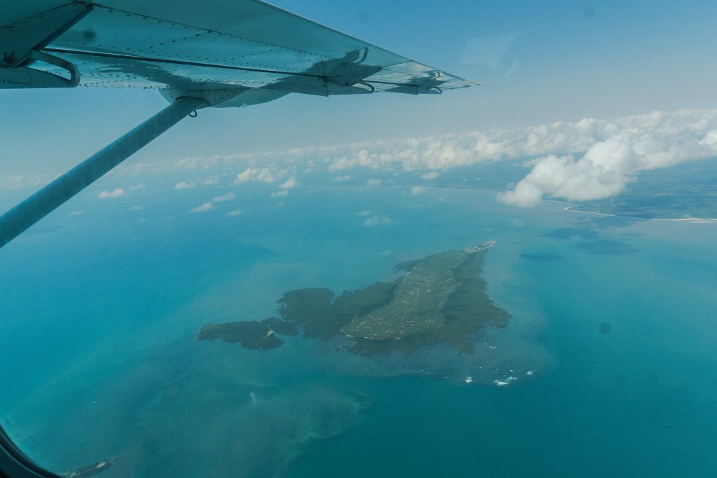 Mafia island airplane