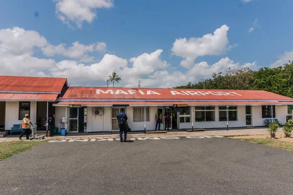 Mafia island airport