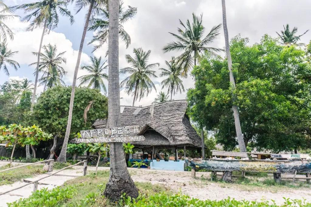 Afro Beach Mafia Island