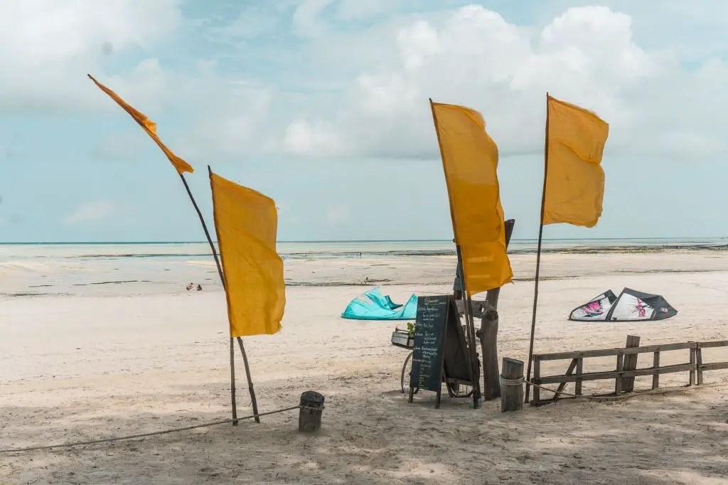 B4 Paje Zanzibar kitesurfing