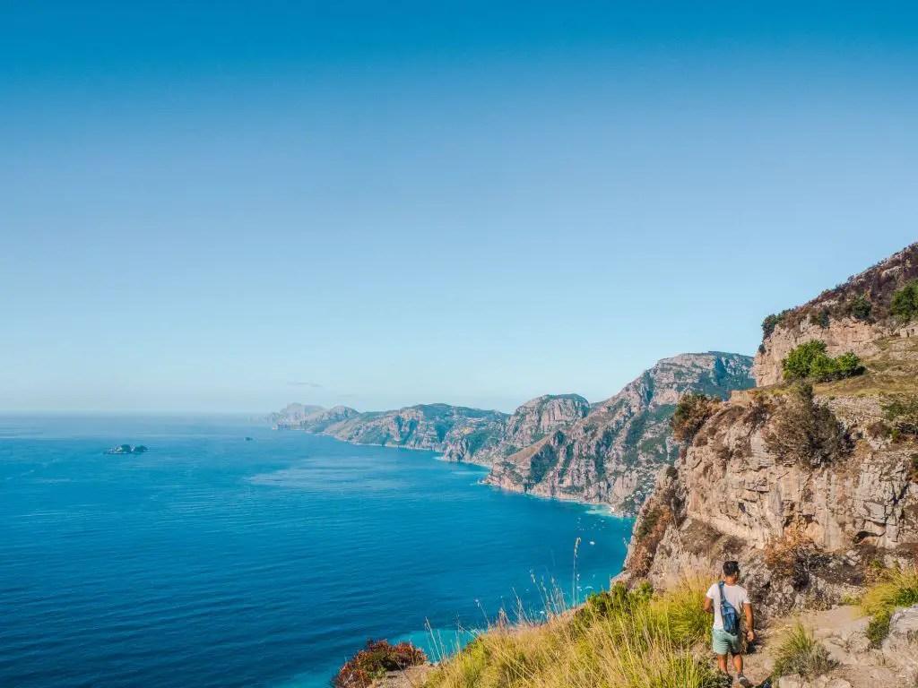 Path of the Gods hike Amalfi Coast
