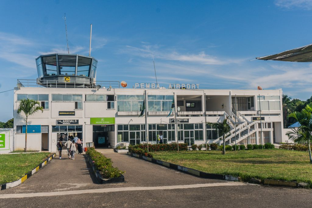 Pemba tanzania airport