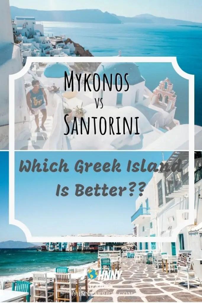 Mykonos Vs Santorini: How To Decide Between Greece\'s Most Popular Islands