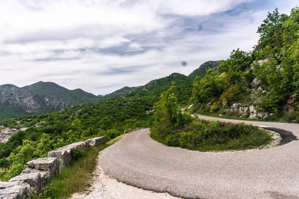 Panoramic Road in MOntenegro