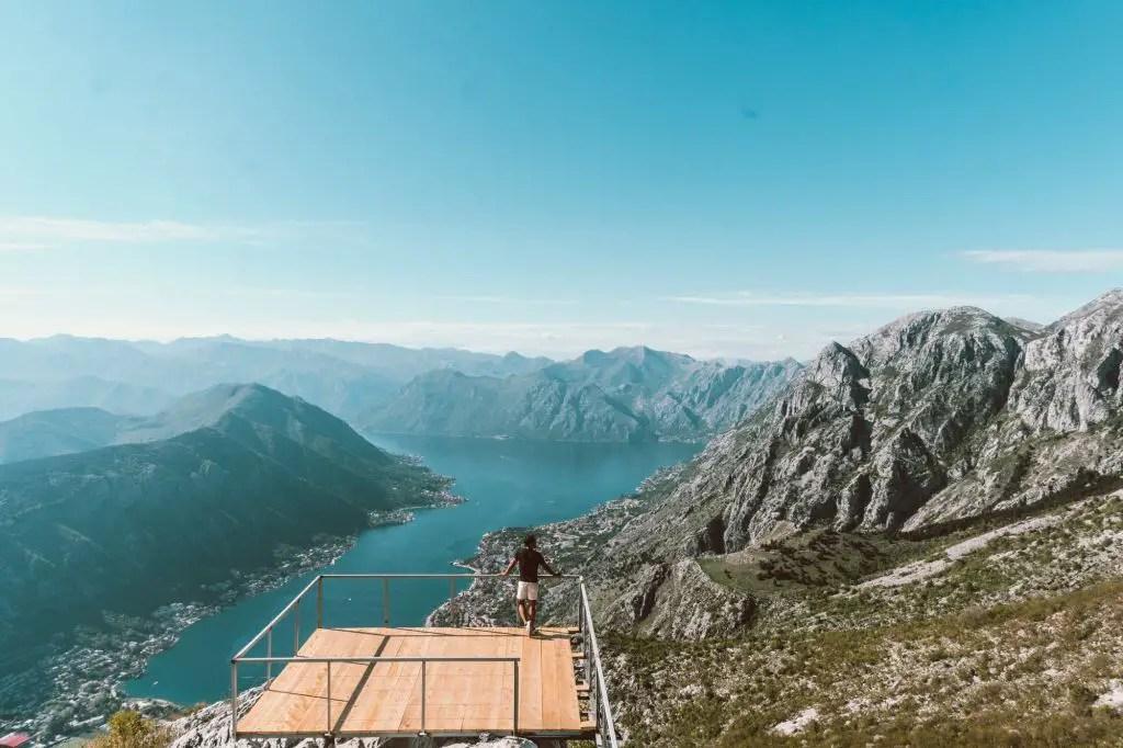 Kotor Bay Montenegro viewpoint