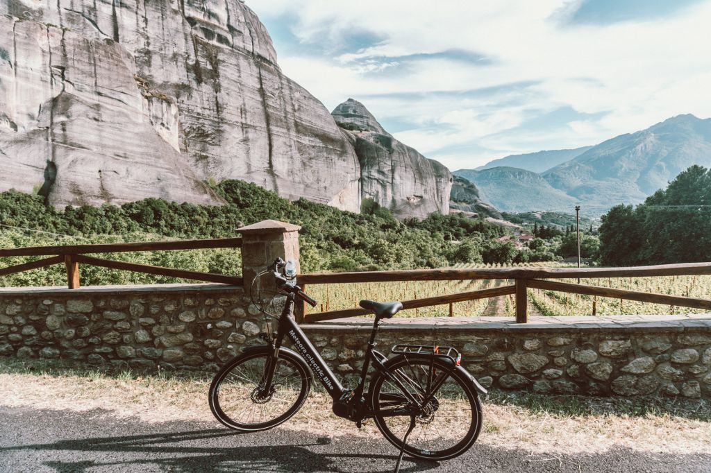 Electric bike tour meteora