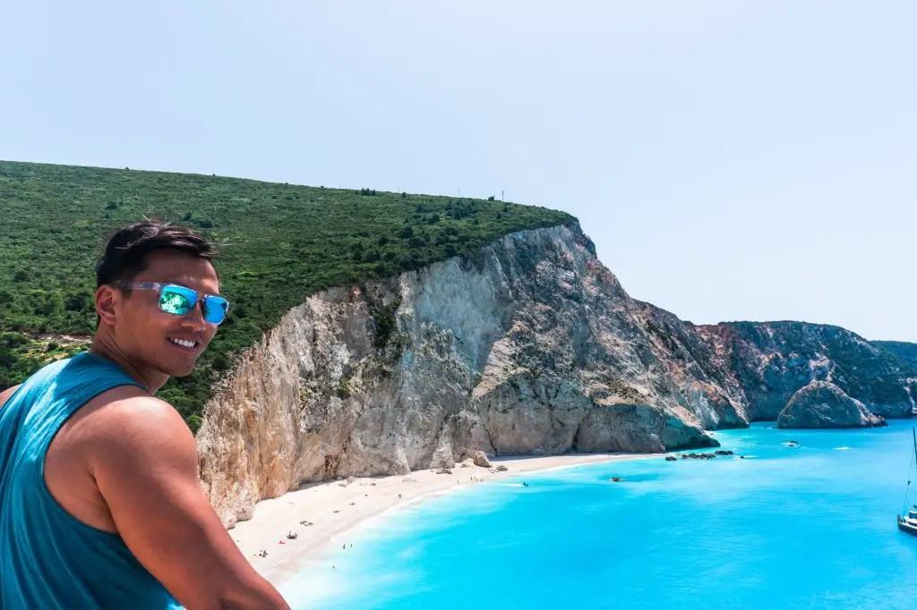 Porto Katsiki Beach Lefkada Greece