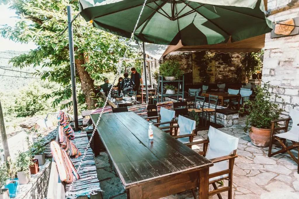 Lithos Restaurant Greece Dilofo