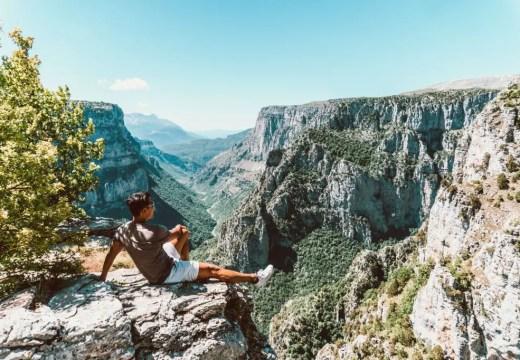Beloi Canyon Zagori Mountains