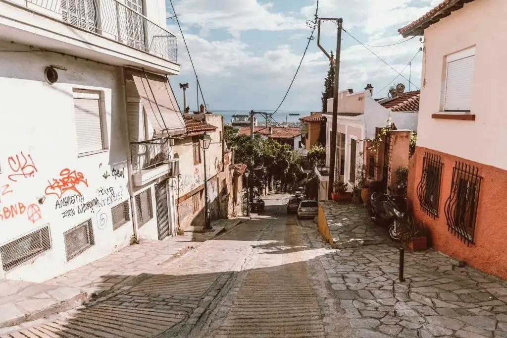 Upper Town Thessaloniki