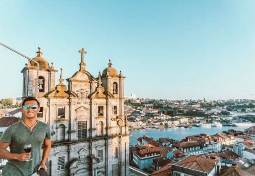 Porto Portugal views of the city