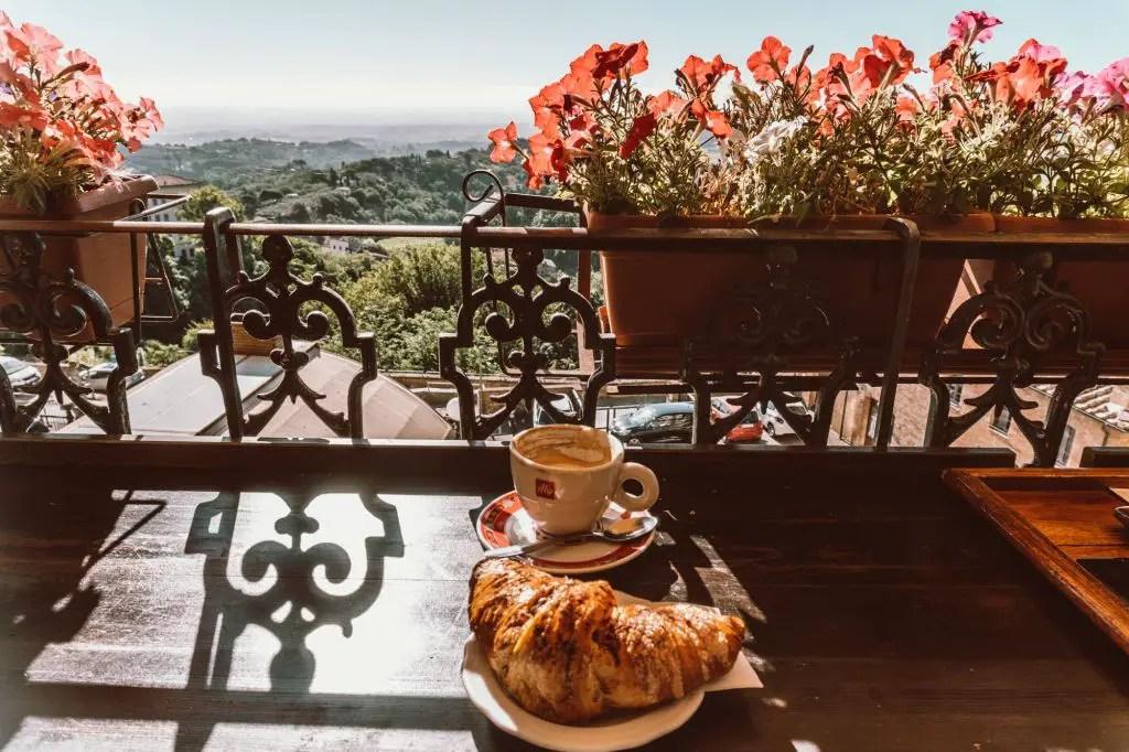 Caffe Poliziano Montepulciano Tuscany Italy