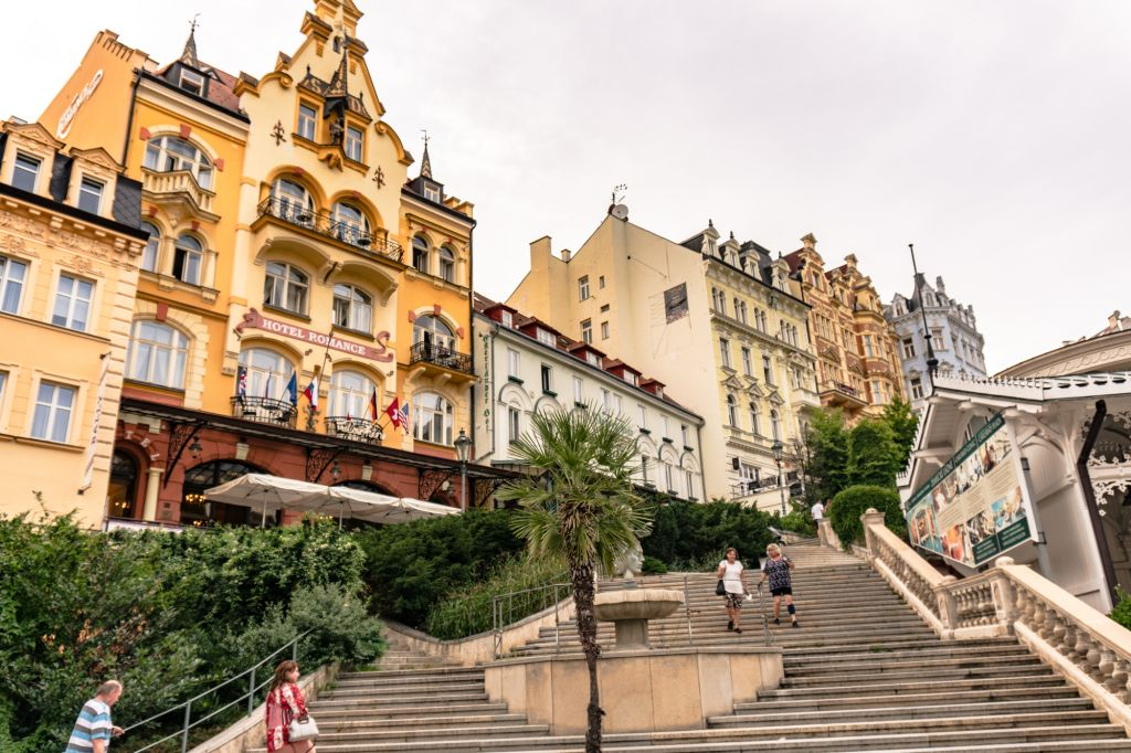 Karlovy Vary Czech Republic spa town