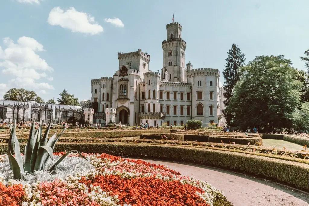 Hluboka palace czech republic