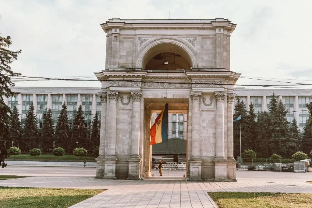 Arc de Triumph Moldova Chisinau