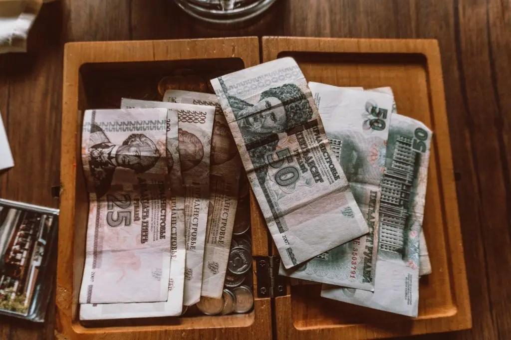 Transinistria Rubles