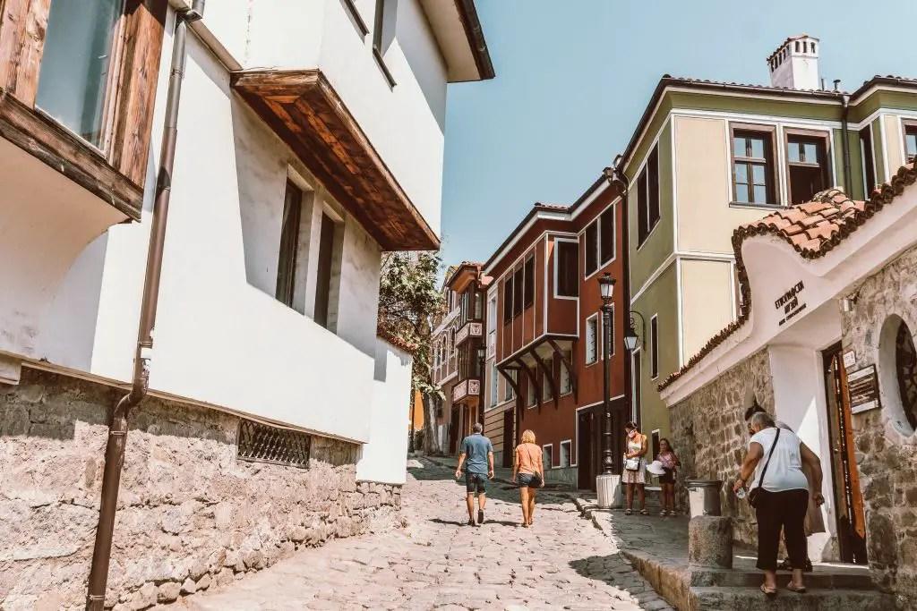 Plovdiv Bulgaria old town