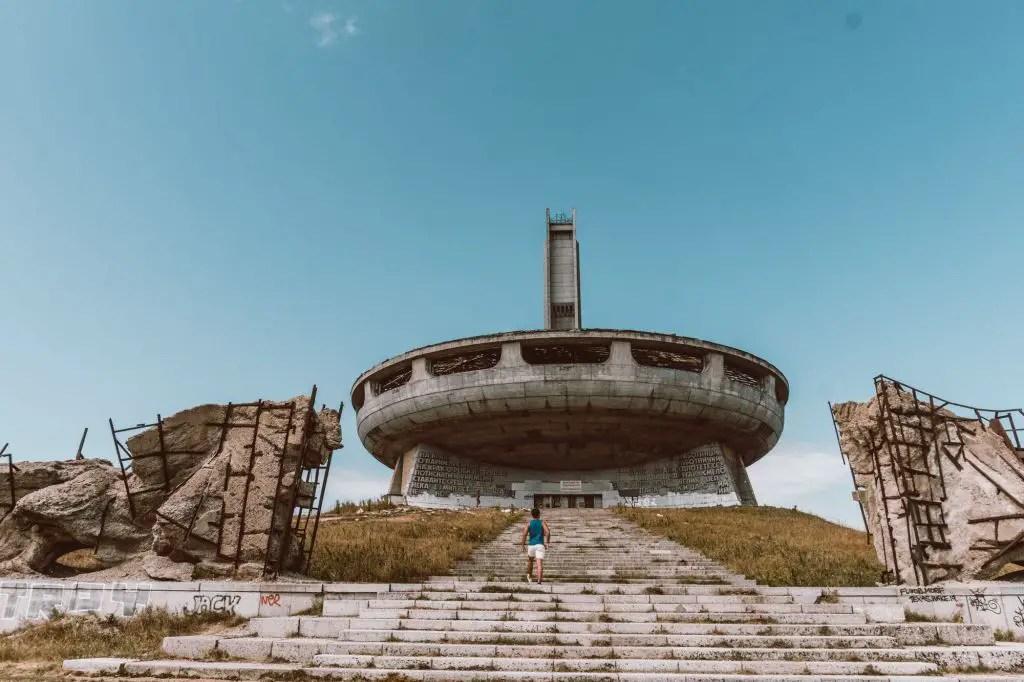 Buzludzha Monument Bulgaria communist monument