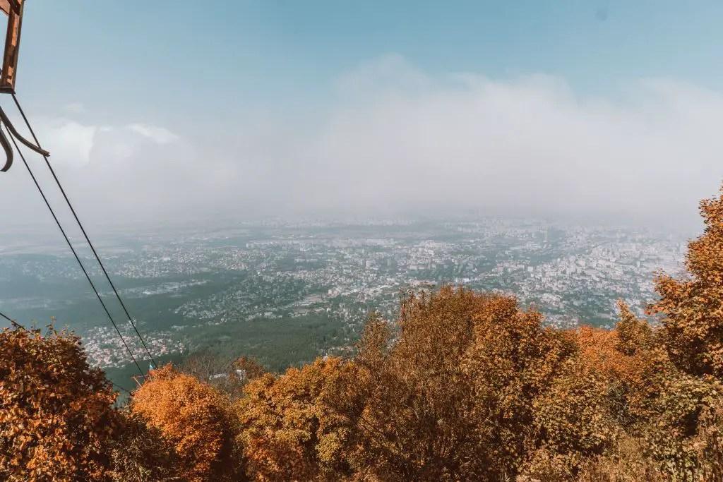 Sofia Aerial view