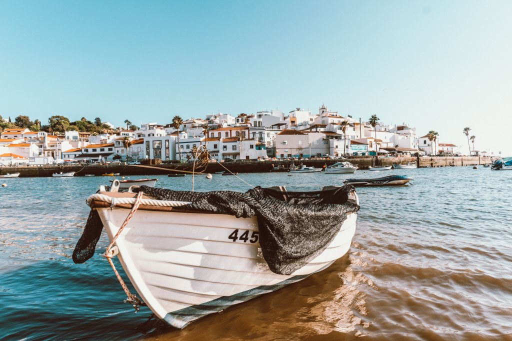 Ferragudo Town Algarve