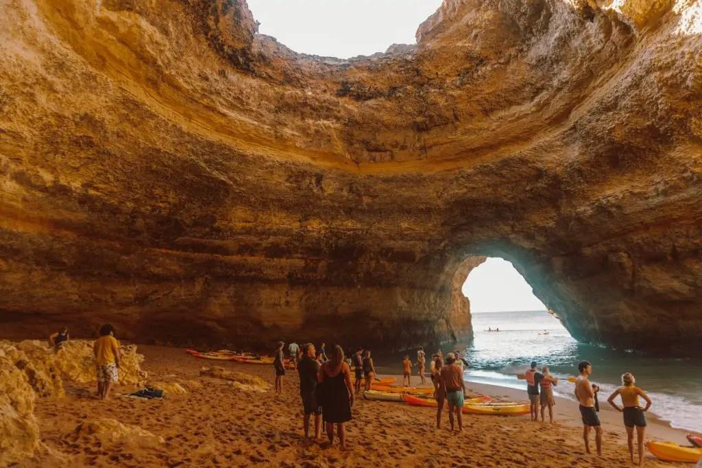 Benagil Caves Portugal Algarve