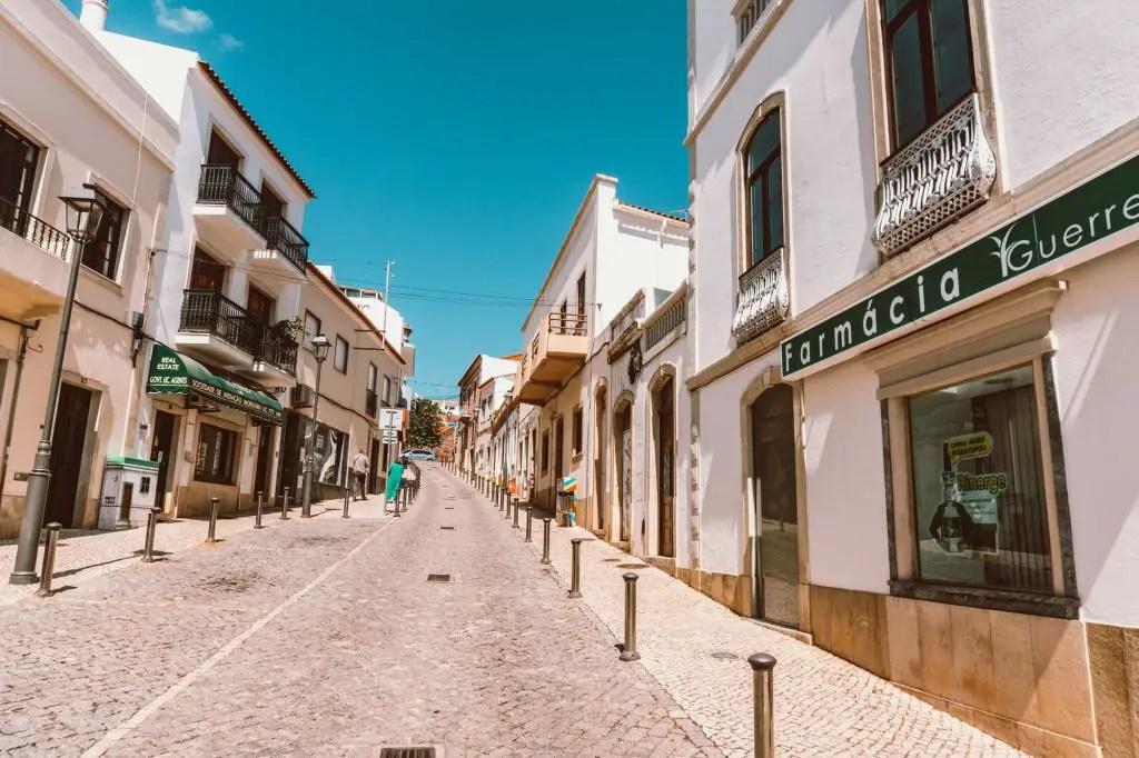 Silves Town Portugal Algarve