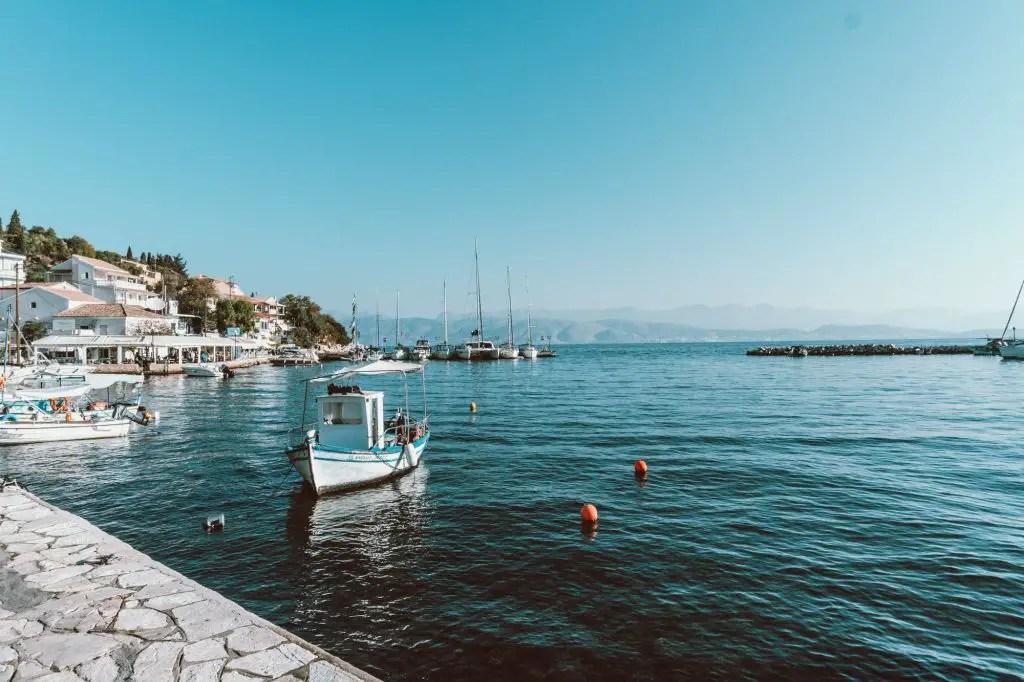 Corfu ionian islands greece