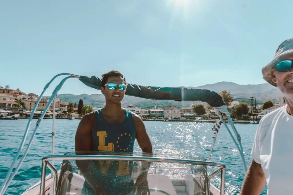 Rent a boat in corfu