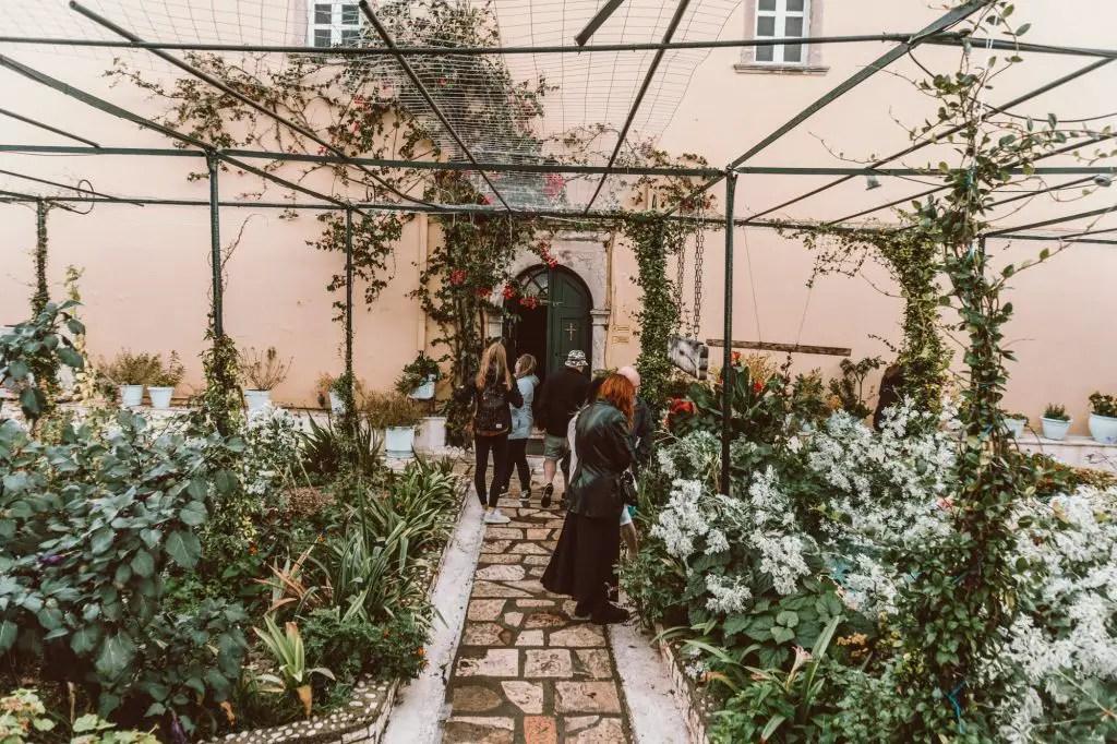 Palaiokastritsa Monastery